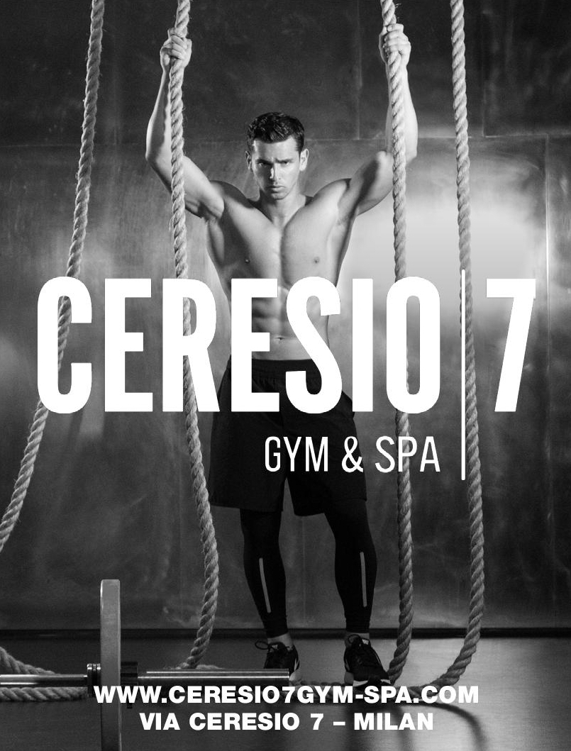 pretty nice ee943 0cdbd VALERIU GUTU for CERESIO GYM & SPA by DSQUARED2 - Attitude ...